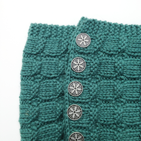 Knitting Spruce Cowl