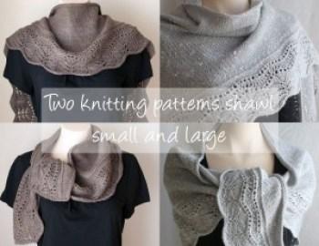 Knitting Pattern Shawl Farniente 1 and 2