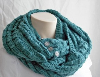 Knitting Pattern Cowl Spruce Cowl