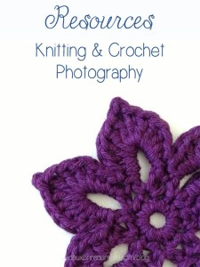 Resources Knitting and Crochet Photography