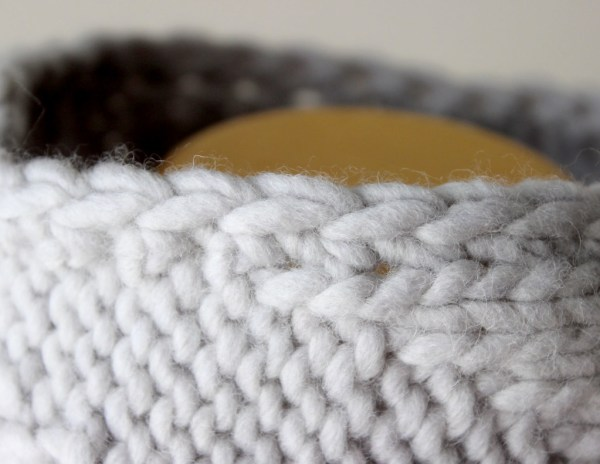 Knitting Pattern Geometric Cowl Deux Brins de Maille 4