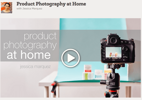 Product Photography at Home - Online Course