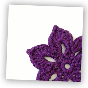 Free Printable Note Car Crochet Flower