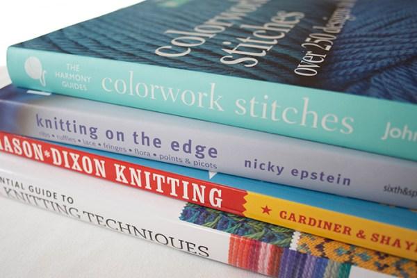 Knitting and Crochet Books