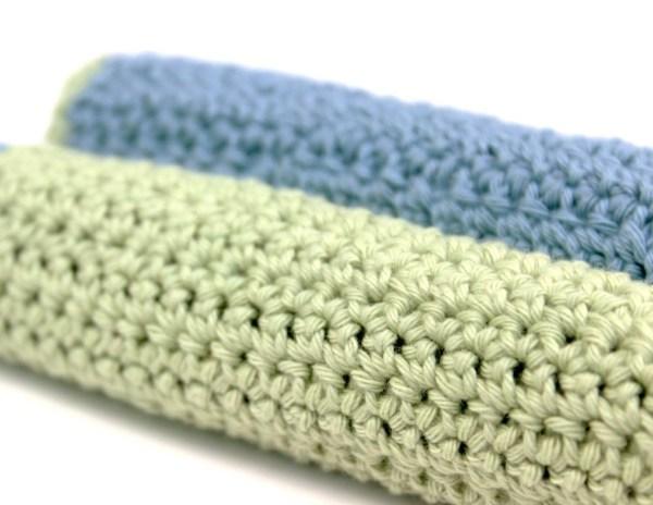 Crochet Pattern Washcloth 4