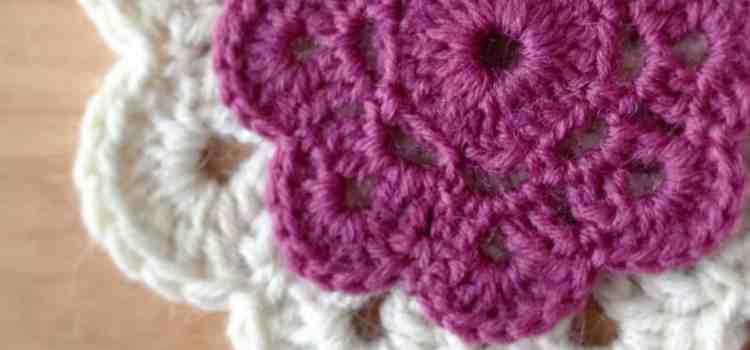 Crochet Motif Flowers – Project 365