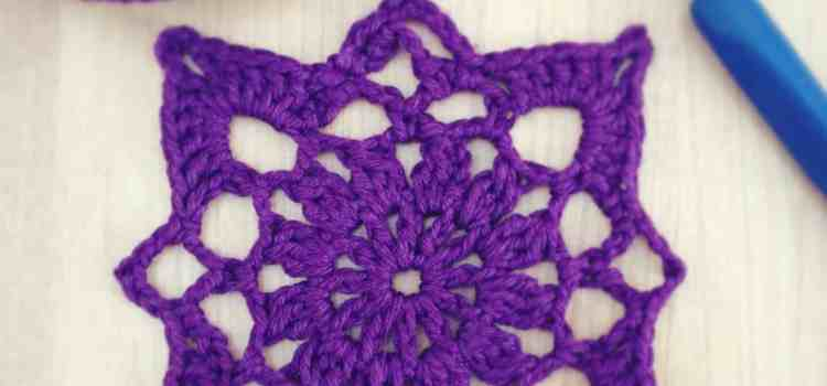 Crochet Motif From My Favorite Crochet Book!