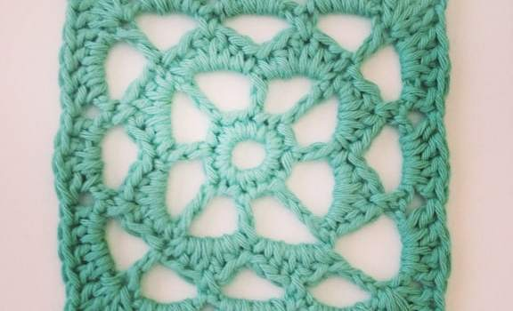 Crochet Square Motif, But, Not The Granny Square!