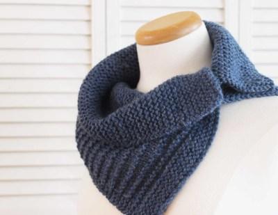 Knitting Pattern: Stripes Cowl | Deux Brins de Maille