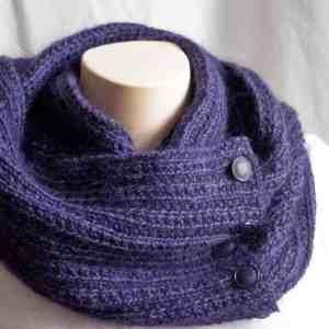 Knitting Pattern Midnight Cowl | Deux Brins de Maille