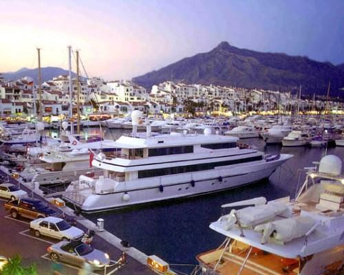 Puerto Banús en Málaga
