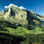 la Cordillera Montes Vascos