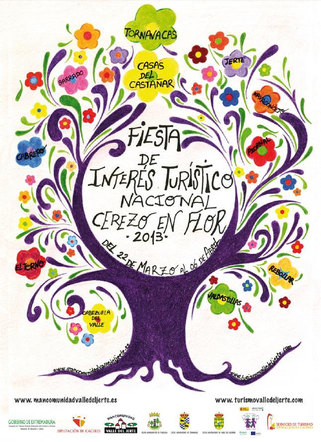 La Fiesta del Cerezo en Flor en el Valle del Jerte