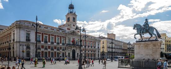 La real casa de correos de madrid de viaje por madrid for Plaza puerta del sol