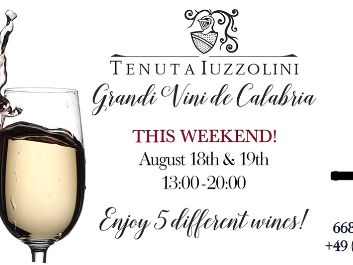 Tenuta Wine Weekend Tasting De Vine Wine