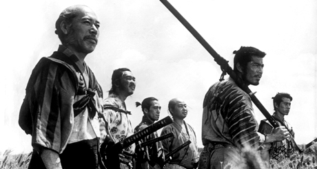 The Seven Samurai, superb action movie