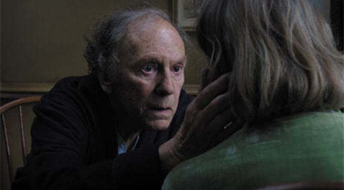 Jean-Louis Trintignant and Emmanuelle Riva both deliver stunning performances in Amour