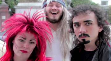 Jam Session: a short film that sees four rocker friends come to a sticky end