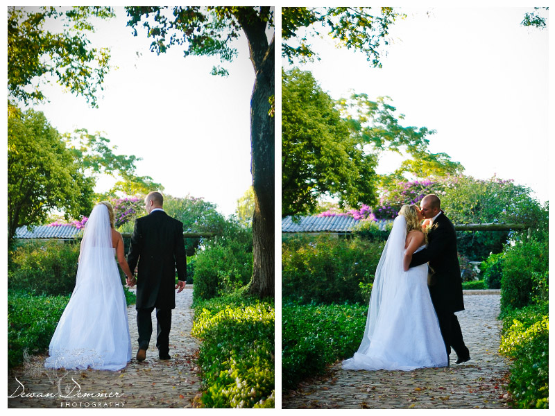 London Wedding Photography | Outdoor Wedding- time for a kiss
