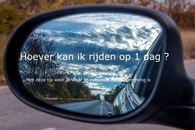 Hoever kan ik rijden uitgelichte afbeelding