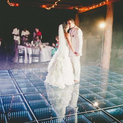 Wedding cancun-Planners-Infinity Dance Floor-Dance Floor for party-31