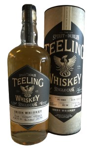 Teeling single cask bourbon