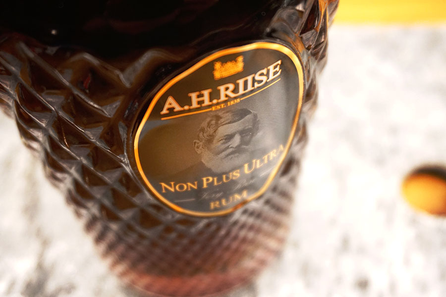 A.H. Riise rum's!
