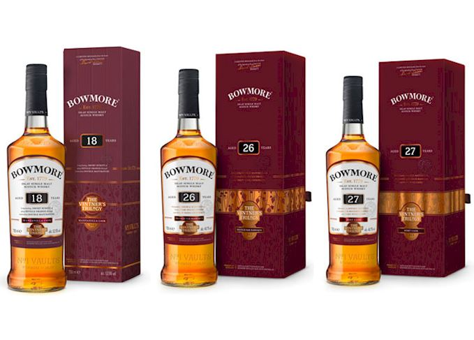 Bowmore 26YO. – The Vintner's Trilogy