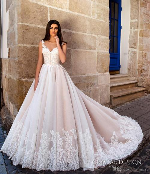Medium Of Pink Wedding Dress