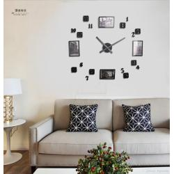 Small Crop Of Digital Clock For Living Room