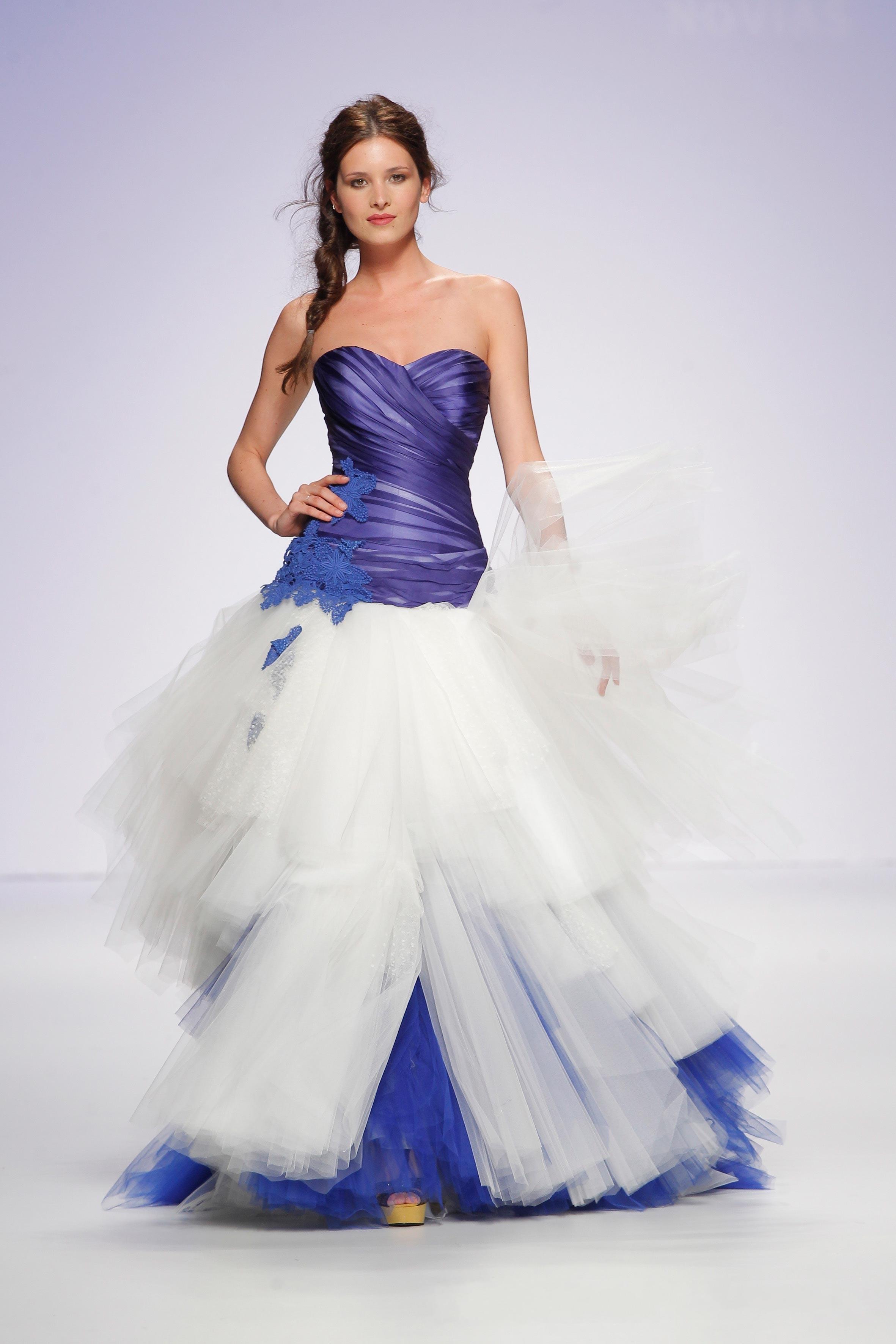 wedding dresses modern color wedding dress with color Wedding Dresses Modern Color 58