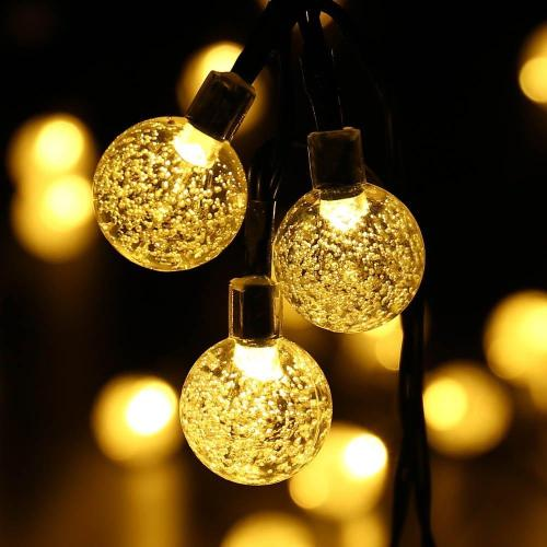 Medium Crop Of Outdoor Solar String Lights