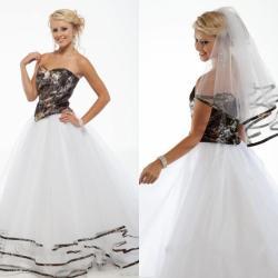 Pink camo flower girl dresses dream wedding ideas around the world camo and pink wedding dresses wedding dresses designs ideas and mightylinksfo