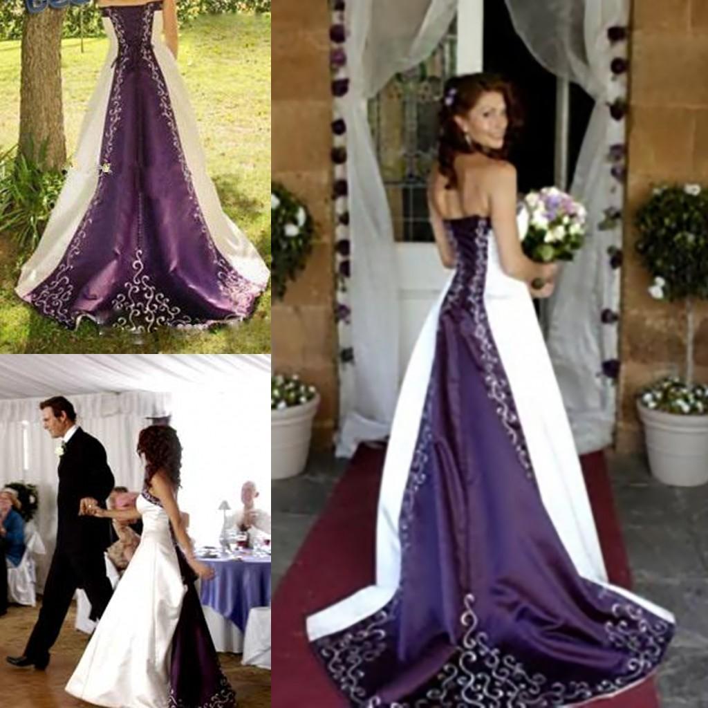 Picturesque Purplewedding Dresses Wholesale Purple Wedding Dress Buy Cheap Purple And Wedding Dress 2015 A Line Wholesale Purple wedding The Purple Wedding