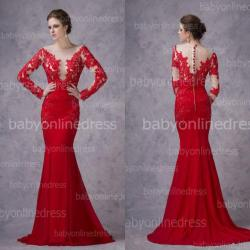 Small Crop Of Red Wedding Dress