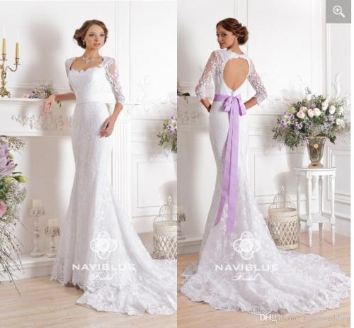 Medium Of Lavender Wedding Dress
