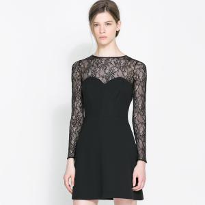 Favorite Women Long Sleeve Lace Dress Back Lace Dress Tube Patchwork Elasticslim Haoduoyi Dresses Cheap Dresses China Dresses Suppliers Online Back Lace Dress Tube Patchwork Long Sleeve Lace Dresses C