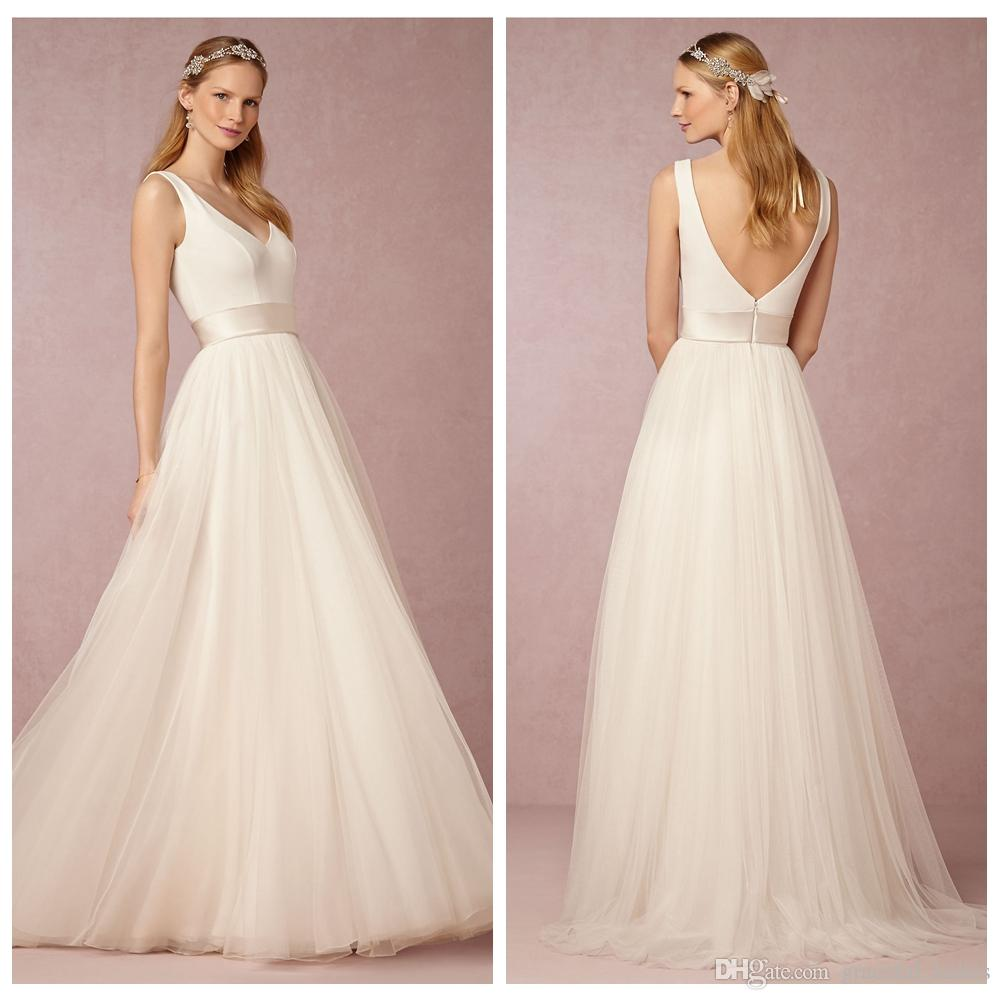 plus size simple bridal dresses casual wedding dresses Plus Size Simple Bridal Dresses 4