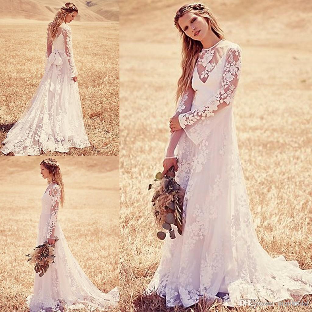 vintage bohemian wedding dresses boho wedding dresses Vintage Bohemian Wedding Dresses 12