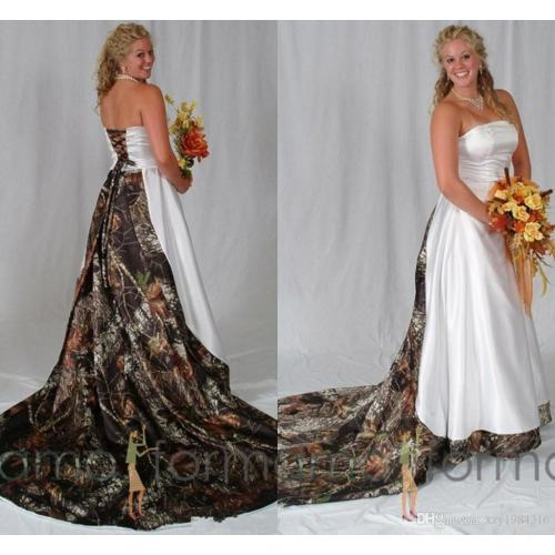 Medium Crop Of Camo Wedding Dresses