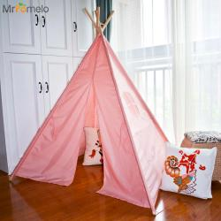 Imposing Baby House Fable Child Toys Tents Mrpomelo Indian Children Teepee Kids Solid Color Tents Wooden Poles Playtent Childrenhouse Mrpomelo Indian Children Teepee Kids Solid Color Tents Wooden