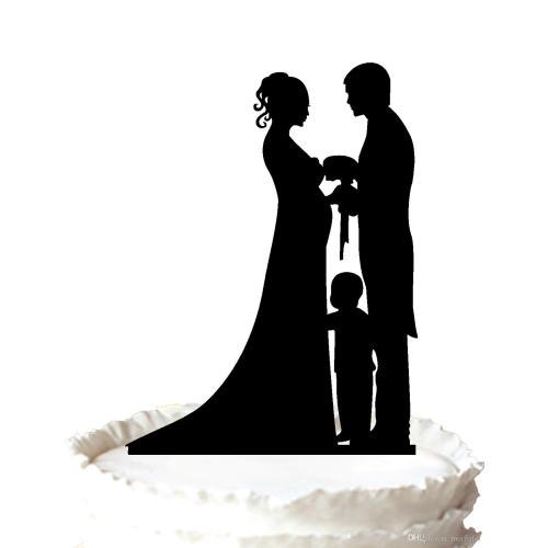 Medium Crop Of Bride And Groom Cake Topper