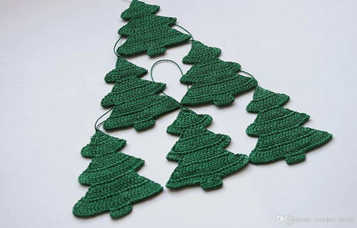 Teal Discount Holiday Decorations Discount Outdoor Ornaments Crochet Decorations Hanging Ornaments Crochet Decorations Hanging Tree Set decor White Christmas Ornaments