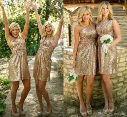 Small Of Gold Bridesmaid Dresses