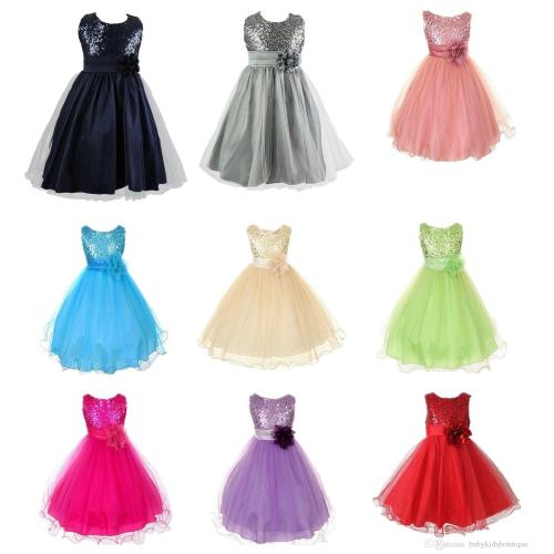 Medium Crop Of Girls Party Dresses