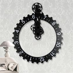Small Of Large Wall Clock With Gears