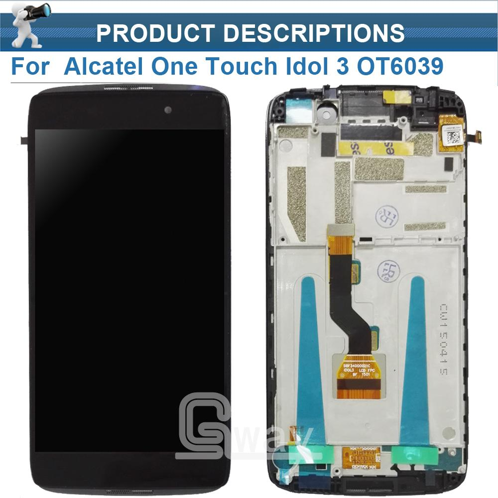 Fabulous For Alcatel One Touch Idol Lcd Screen Display Withtouch Screen Digitizer Alcatel One Touch Idol Lcd Screen Frame Screen Guard Ipod Touch Screen Doorpet houzz 01 Screen Door Guard