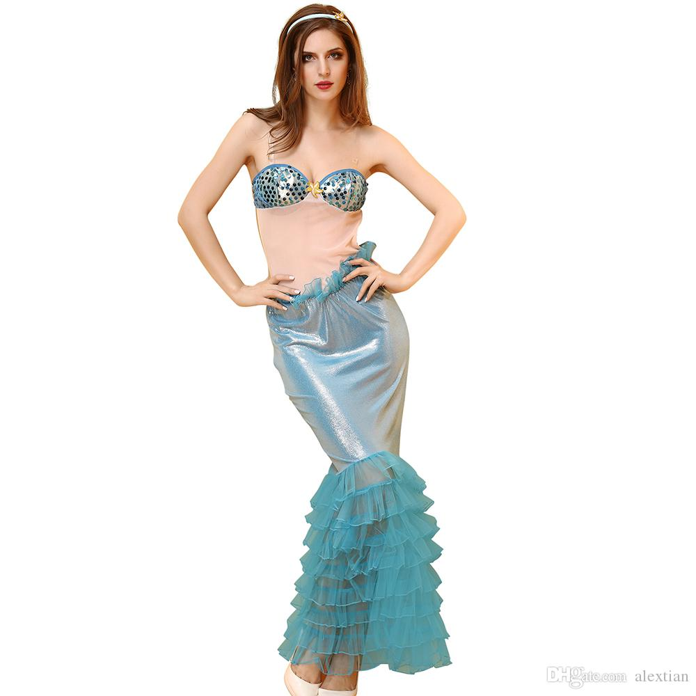 Fullsize Of Mermaid Halloween Costume