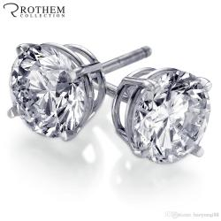 Small Of 1 Carat Diamond Stud Earrings