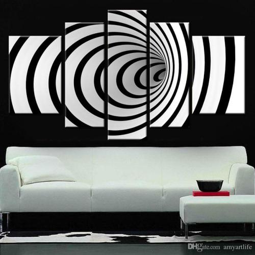 Medium Crop Of Black And White Wall Art